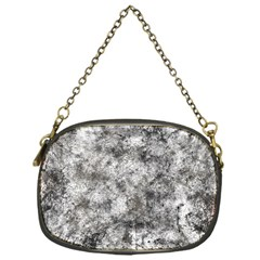 Grunge Pattern Chain Purses (one Side)