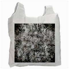 Grunge Pattern Recycle Bag (two Side)