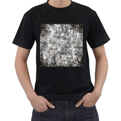 Grunge Pattern Men s T Shirt (black)