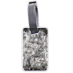 Grunge Pattern Luggage Tags (one Side)