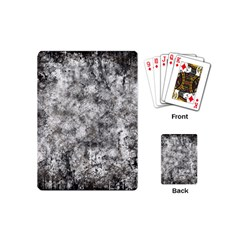 Grunge Pattern Playing Cards (mini)