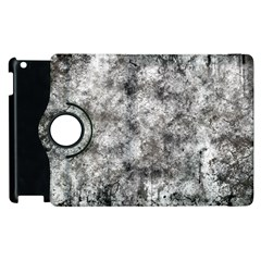 Grunge Pattern Apple Ipad 2 Flip 360 Case