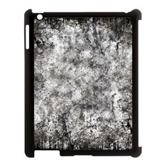 Grunge Pattern Apple Ipad 3/4 Case (black)
