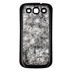 Grunge Pattern Samsung Galaxy S3 Back Case (black)
