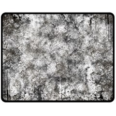 Grunge Pattern Double Sided Fleece Blanket (medium)