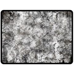 Grunge Pattern Double Sided Fleece Blanket (large)