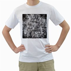 Grunge Pattern Men s T Shirt (white)