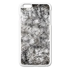 Grunge Pattern Apple Iphone 6 Plus/6s Plus Enamel White Case