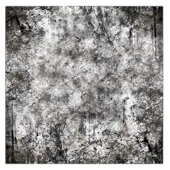 Grunge Pattern Large Satin Scarf (square)