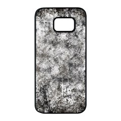 Grunge Pattern Samsung Galaxy S7 Edge Black Seamless Case