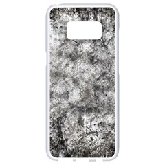 Grunge Pattern Samsung Galaxy S8 White Seamless Case