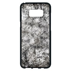 Grunge Pattern Samsung Galaxy S8 Plus Black Seamless Case