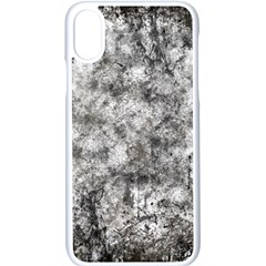 Grunge Pattern Apple Iphone X Seamless Case (white)