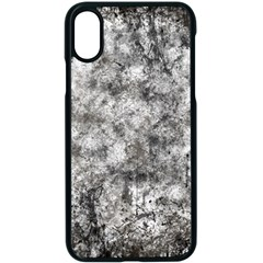 Grunge Pattern Apple Iphone X Seamless Case (black)
