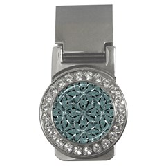 Modern Oriental Ornate Pattern Money Clips (cz)