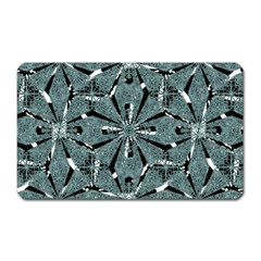 Modern Oriental Ornate Pattern Magnet (rectangular)