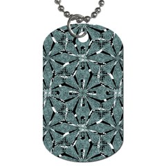 Modern Oriental Ornate Pattern Dog Tag (two Sides)