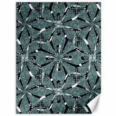 Modern Oriental Ornate Pattern Canvas 36  X 48