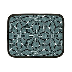 Modern Oriental Ornate Pattern Netbook Case (small)