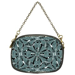 Modern Oriental Ornate Pattern Chain Purses (two Sides)