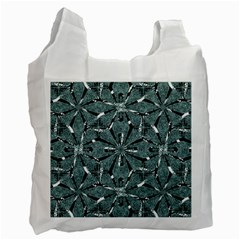 Modern Oriental Ornate Pattern Recycle Bag (two Side)
