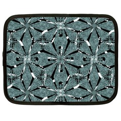 Modern Oriental Ornate Pattern Netbook Case (xl)