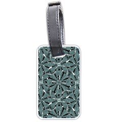 Modern Oriental Ornate Pattern Luggage Tags (two Sides)