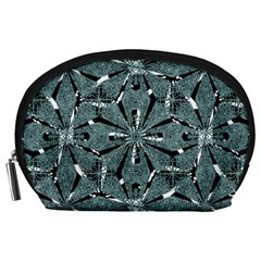 Modern Oriental Ornate Pattern Accessory Pouches (large)