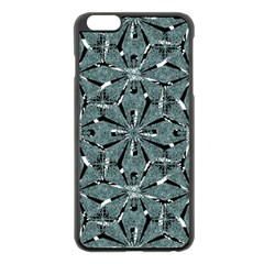 Modern Oriental Ornate Pattern Apple Iphone 6 Plus/6s Plus Black Enamel Case
