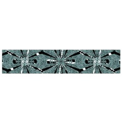 Modern Oriental Ornate Pattern Small Flano Scarf