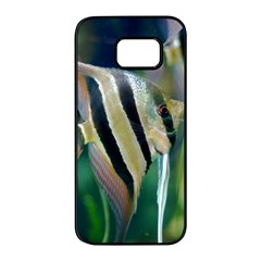 Angelfish 1 Samsung Galaxy S7 Edge Black Seamless Case