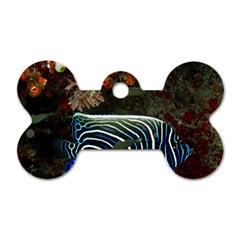 Angelfish 2 Dog Tag Bone (one Side)