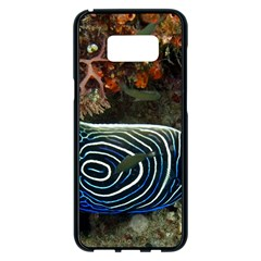 Angelfish 2 Samsung Galaxy S8 Plus Black Seamless Case