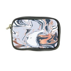 Liquid Gold And Navy Marble Coin Purse