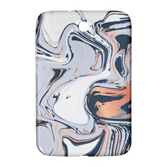 Liquid Gold And Navy Marble Samsung Galaxy Note 8 0 N5100 Hardshell Case