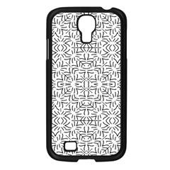 Black And White Ethnic Geometric Pattern Samsung Galaxy S4 I9500/ I9505 Case (black)