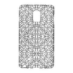 Black And White Ethnic Geometric Pattern Galaxy Note Edge
