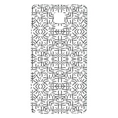 Black And White Ethnic Geometric Pattern Galaxy Note 4 Back Case