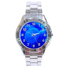 Blue Jellyfish 1 Stainless Steel Analogue Watch