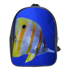 Butterfly Fish 1 School Bag (large)