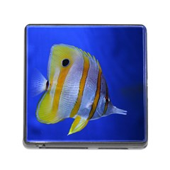 Butterfly Fish 1 Memory Card Reader (square)