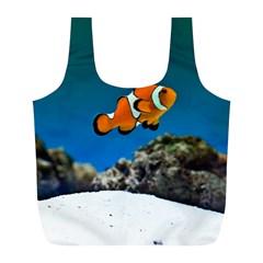 Clownfish 1 Full Print Recycle Bags (l)