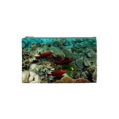 Coral Garden 1 Cosmetic Bag (small)