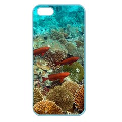 Coral Garden 1 Apple Seamless Iphone 5 Case (color)