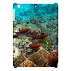 Coral Garden 1 Apple Ipad Mini Hardshell Case