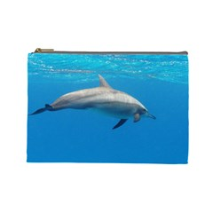 Dolphin 3 Cosmetic Bag (large)