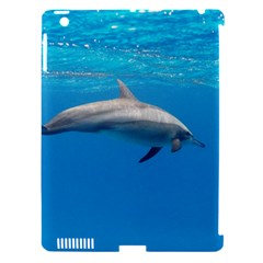Dolphin 3 Apple Ipad 3/4 Hardshell Case (compatible With Smart Cover)