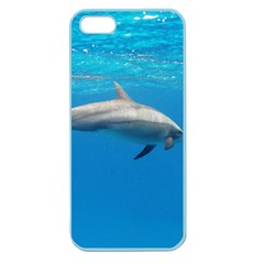 Dolphin 3 Apple Seamless Iphone 5 Case (color)