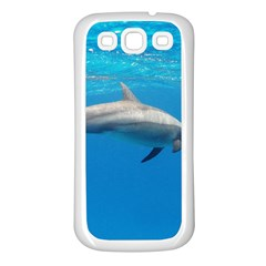 Dolphin 3 Samsung Galaxy S3 Back Case (white)