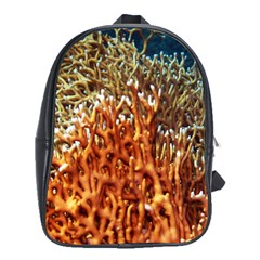 Fire Coral 1 School Bag (large)